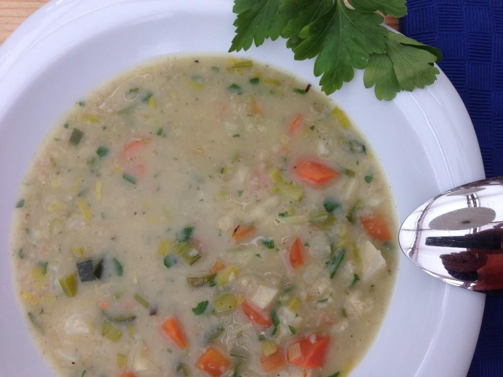 Grünkernsuppe